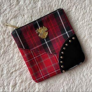 LE Plaid MAC Makeup Bag
